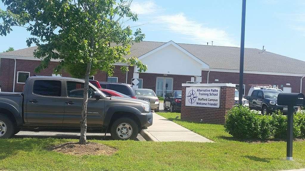 Alternative Paths Training School - school  | Photo 1 of 2 | Address: 21 Smokehouse Dr, Fredericksburg, VA 22406, USA | Phone: (540) 479-1701