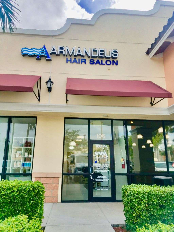 Hair Salon Armandeus Coconut Creek - hair care    Photo 2 of 10   Address: 6370 FL-7 #106, Coconut Creek, FL 33073, USA   Phone: (754) 227-7924