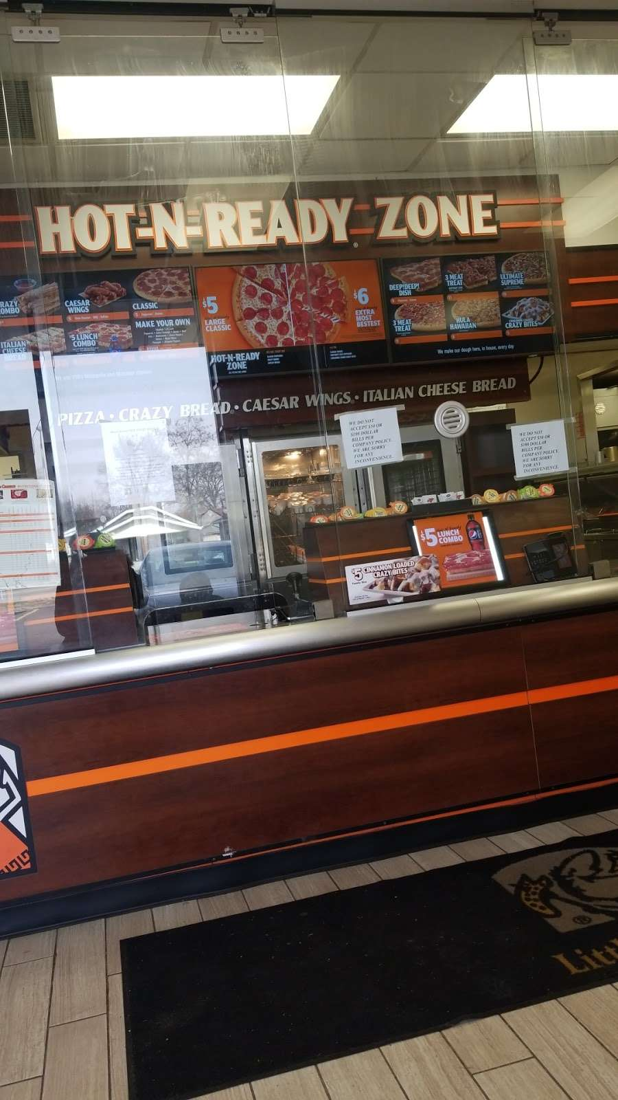 Little Caesars Pizza - meal takeaway  | Photo 9 of 10 | Address: 4477 E 10th St, Indianapolis, IN 46201, USA | Phone: (317) 644-3964