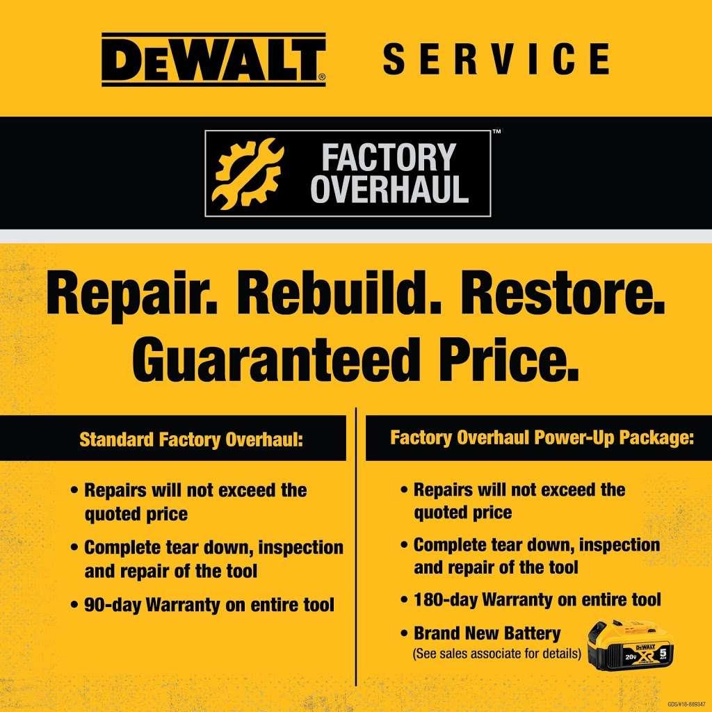 DEWALT Service Center - store    Photo 6 of 7   Address: 3557 Wilkinson Blvd, Charlotte, NC 28208, USA   Phone: (704) 392-0245
