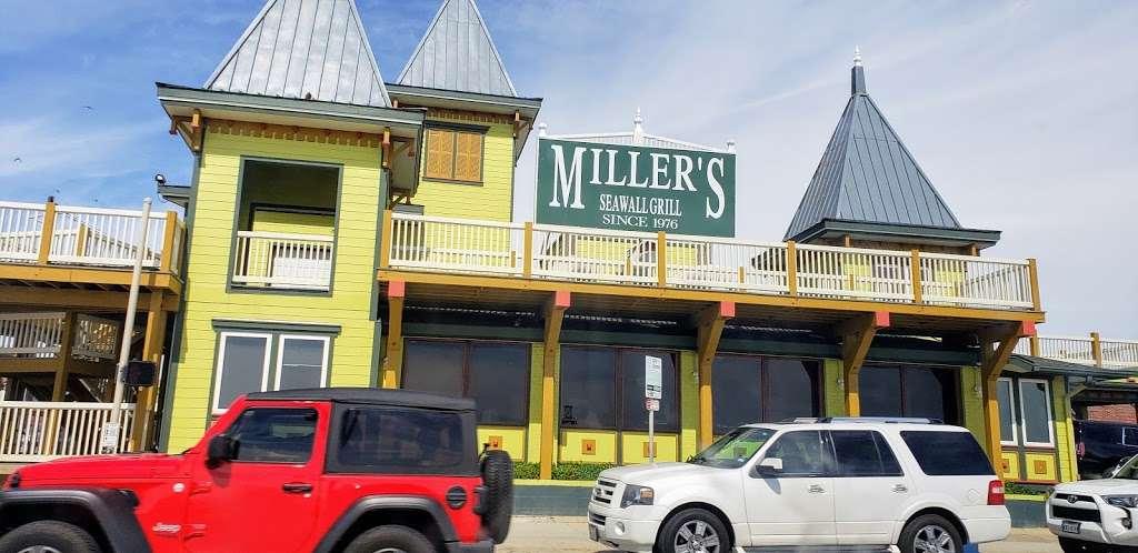 Millers Seawall Grill - restaurant    Photo 3 of 10   Address: 1824 Seawall Blvd, Galveston, TX 77550, USA   Phone: (409) 763-8777