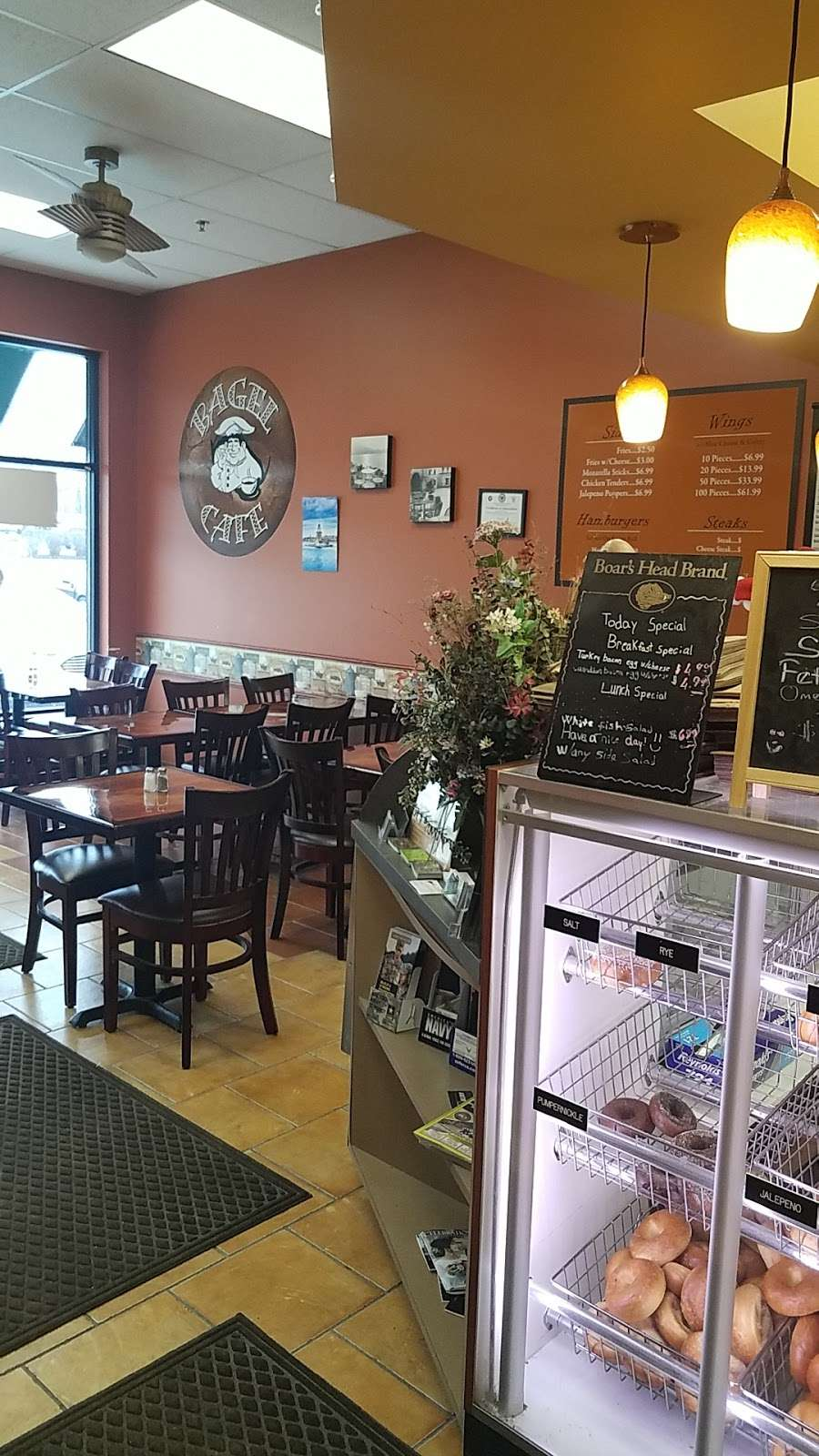 Delran Bagel Cafe - bakery  | Photo 9 of 10 | Address: 1361 S Fairview St, Delran, NJ 08075, USA | Phone: (856) 764-1112