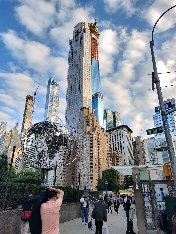 Columbus Circle - bus station | Address: New York, NY 10019, USA