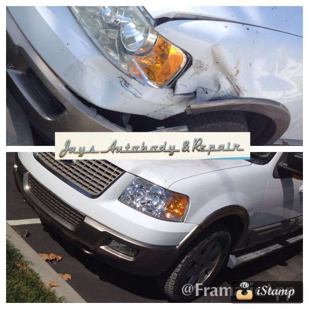Jays Auto Body & Repair - car repair  | Photo 2 of 10 | Address: 27200 3rd St, Highland, CA 92346, USA | Phone: (909) 401-1919