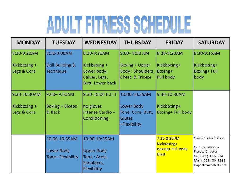 Impact Fitness - gym  | Photo 9 of 10 | Address: 60A, Mountain Blvd, Warren, NJ 07059, USA | Phone: (908) 379-8075