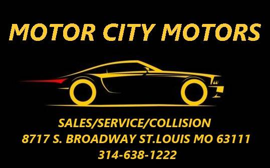 Motor City Motors - car dealer    Photo 8 of 8   Address: 8717 S Broadway, St. Louis, MO 63111, USA   Phone: (314) 638-1222