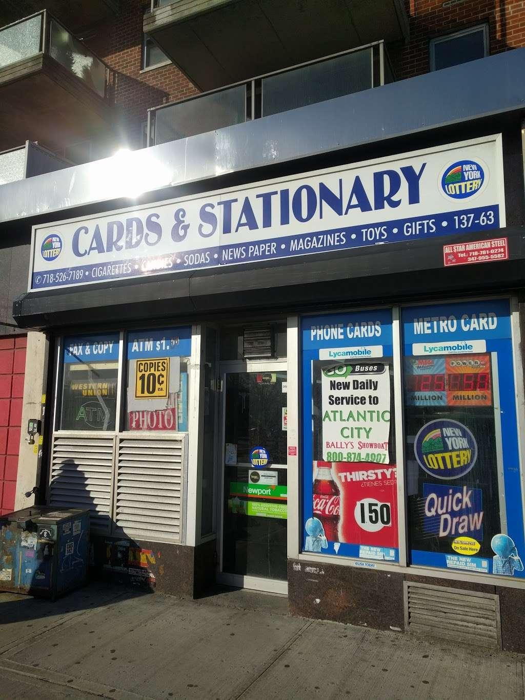 Briarwood News Inc - store  | Photo 1 of 1 | Address: 13763 Queens Blvd, Jamaica, NY 11435, USA | Phone: (718) 526-7189