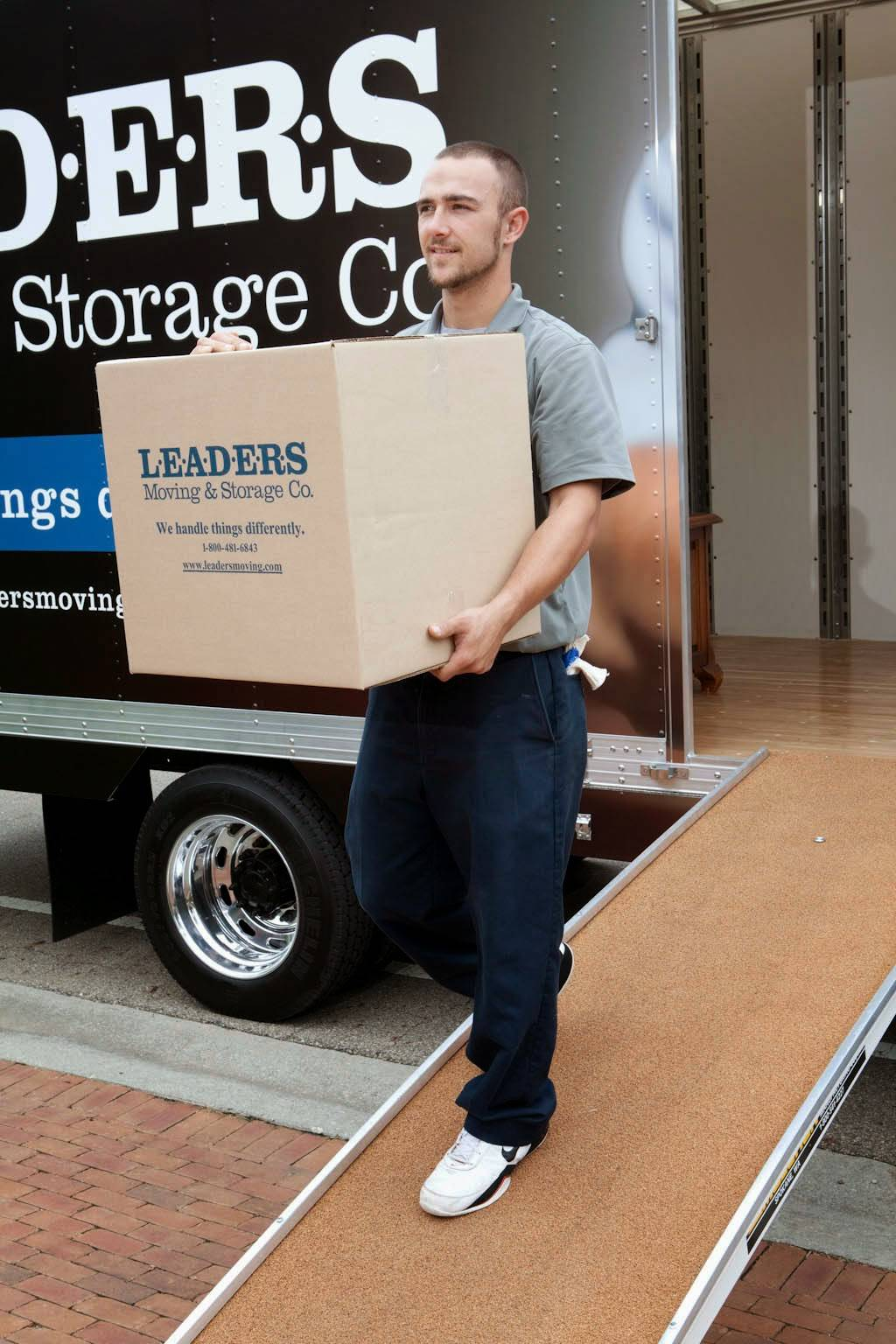 Leaders Moving & Storage Co. - moving company  | Photo 7 of 10 | Address: 4517 Industrial Pkwy, Cleveland, OH 44135, USA | Phone: (440) 497-4393
