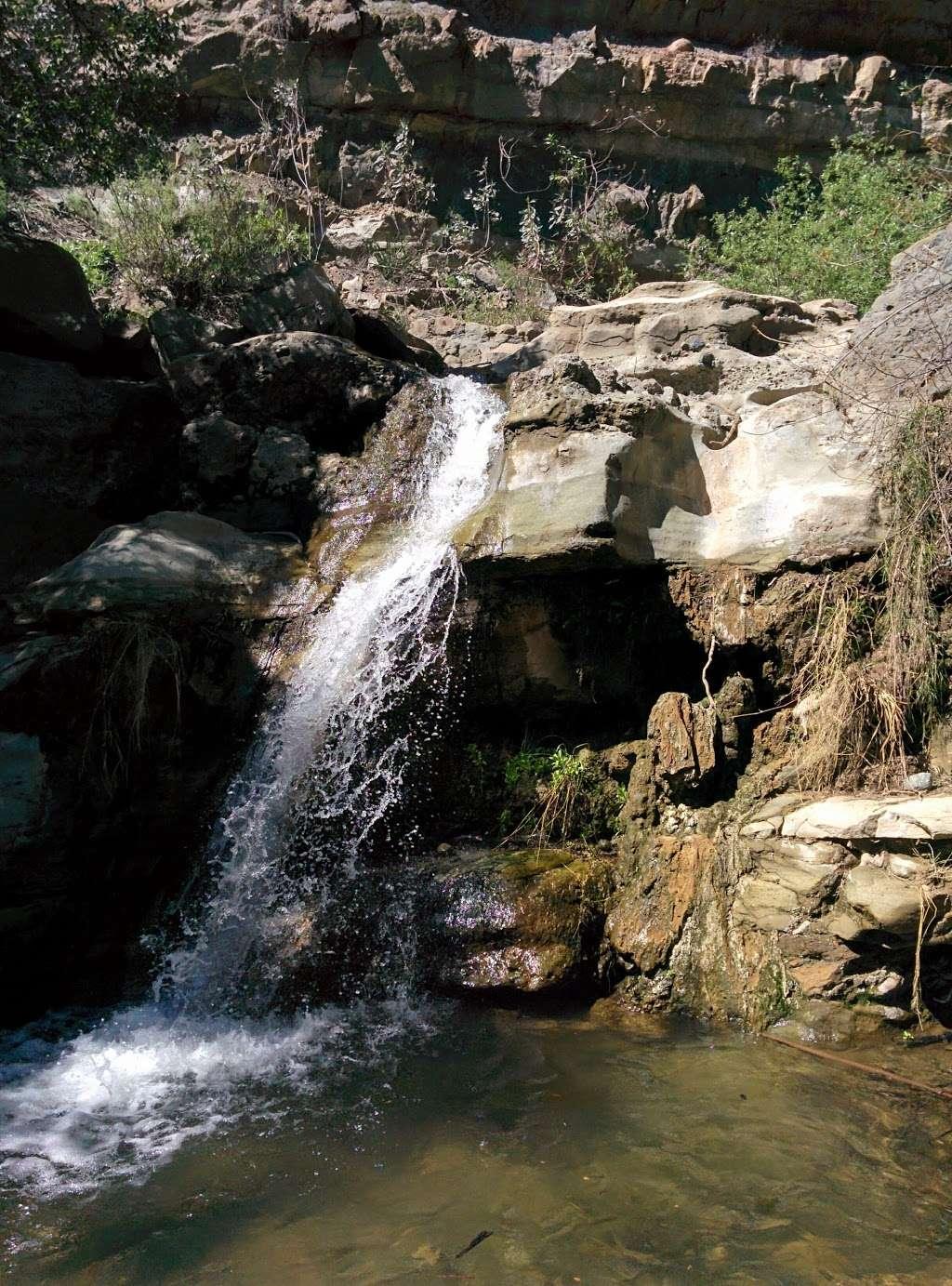 Black Star Canyon Falls - park    Photo 4 of 10   Address: 10499, 10967 Black Star Canyon Rd, Silverado, CA 92676, USA