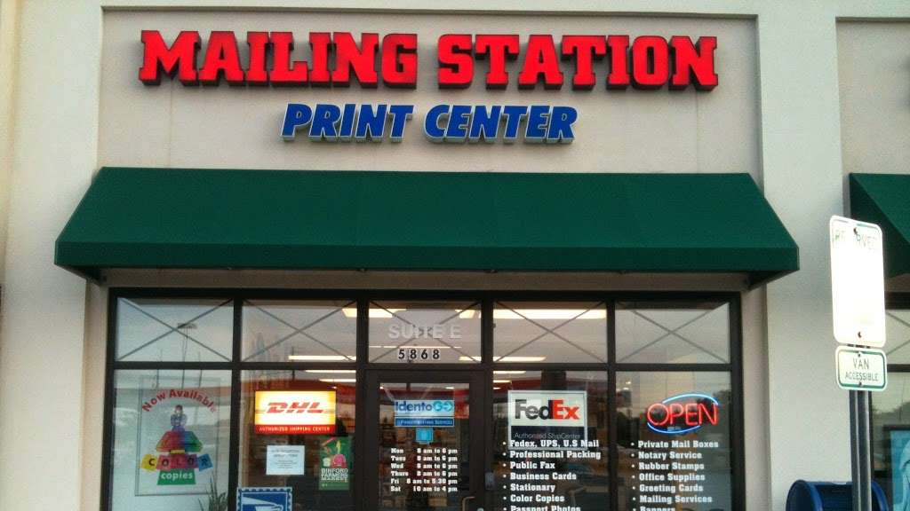 Mailing Station - store  | Photo 1 of 10 | Address: 5868 East 71st Street, #E, Indianapolis, IN 46220, USA | Phone: (317) 841-7506