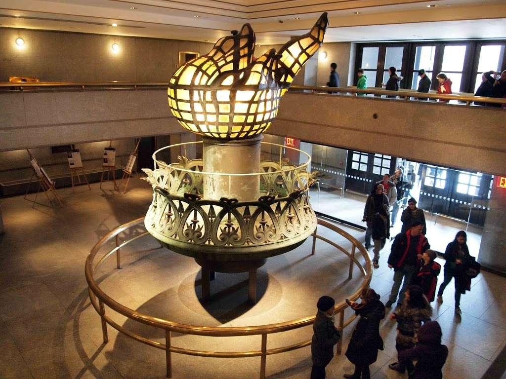Liberty Island Sculpture Garden - park    Photo 7 of 10   Address: Battery Pl, New York, NY 10004, USA   Phone: (201) 604-2800