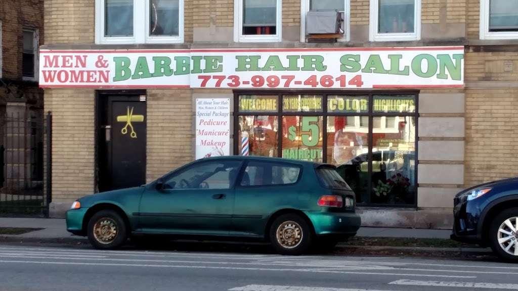 Barbie S Hair Salon 4192 N Elston Ave Chicago Il 60618 Usa