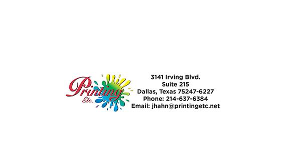 Printing Etc. - store  | Photo 3 of 6 | Address: 3141 Irving Blvd #215, Dallas, TX 75247, USA | Phone: (214) 637-6384