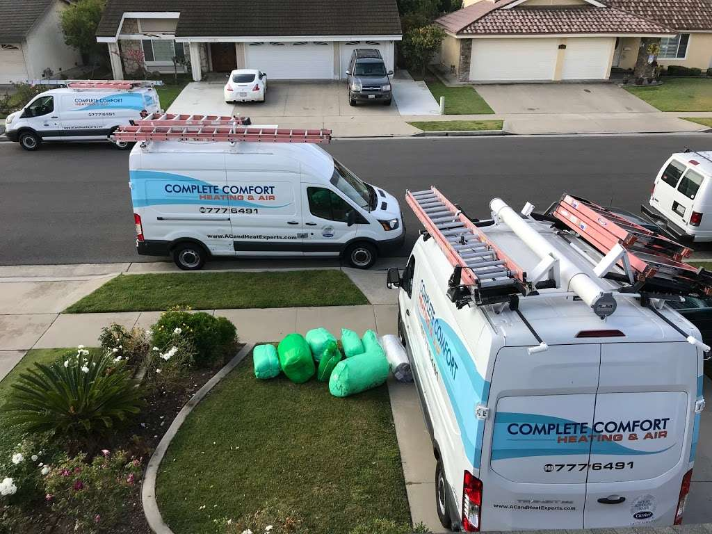 Complete Comfort Heating & Air - plumber  | Photo 3 of 10 | Address: 17450 Mt Herrmann St, Fountain Valley, CA 92708, USA | Phone: (949) 742-2995