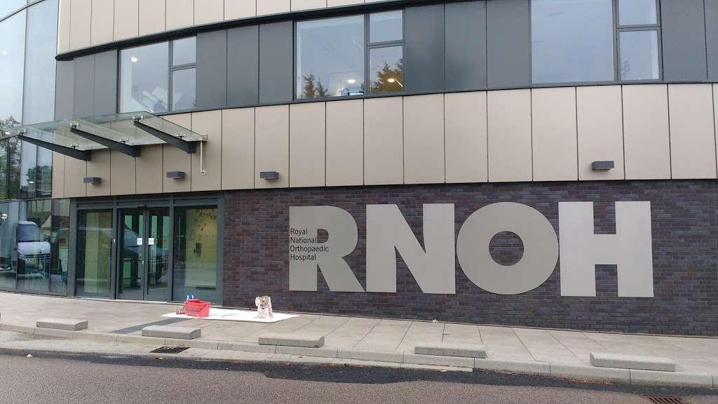 Royal National Orthopaedic Hospital - hospital    Photo 6 of 10   Address: Brockley Hill, Stanmore HA7 4LP, UK   Phone: 020 3947 0100