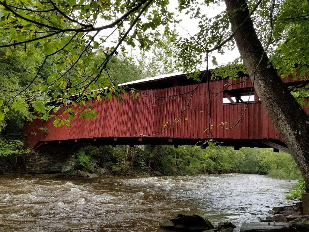 Josiah Hess Covered Bridge - museum  | Photo 1 of 10 | Address: Winding Rd, Orangeville, PA 17859, USA