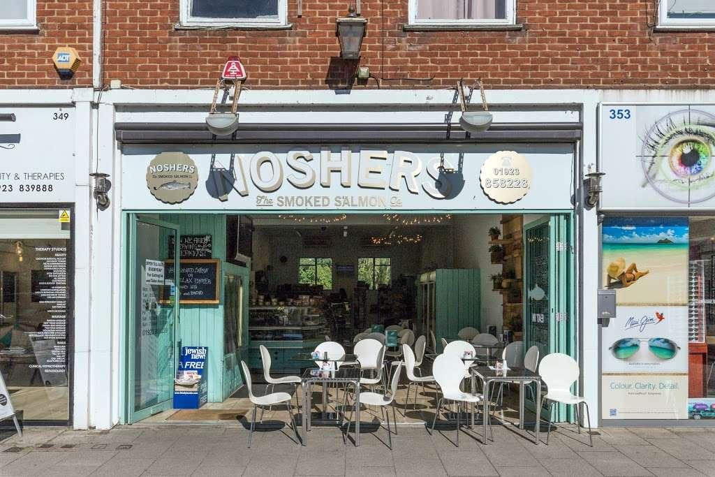 Noshers - store    Photo 3 of 10   Address: 351 Watling St, Radlett WD7 7LB, UK   Phone: 01923 858228