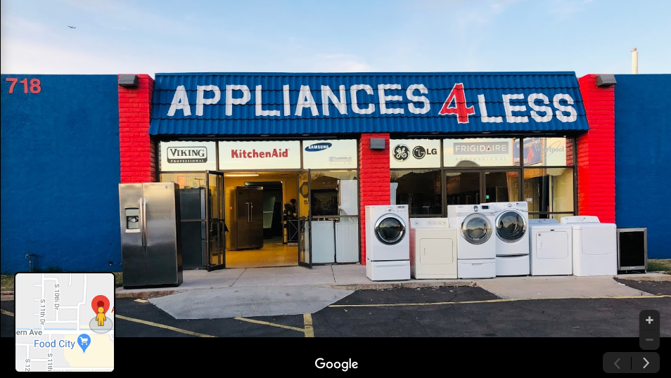 Appliances 4 Less - home goods store  | Photo 1 of 1 | Address: 718 W Southern Ave, Phoenix, AZ 85041, USA | Phone: (602) 475-3149