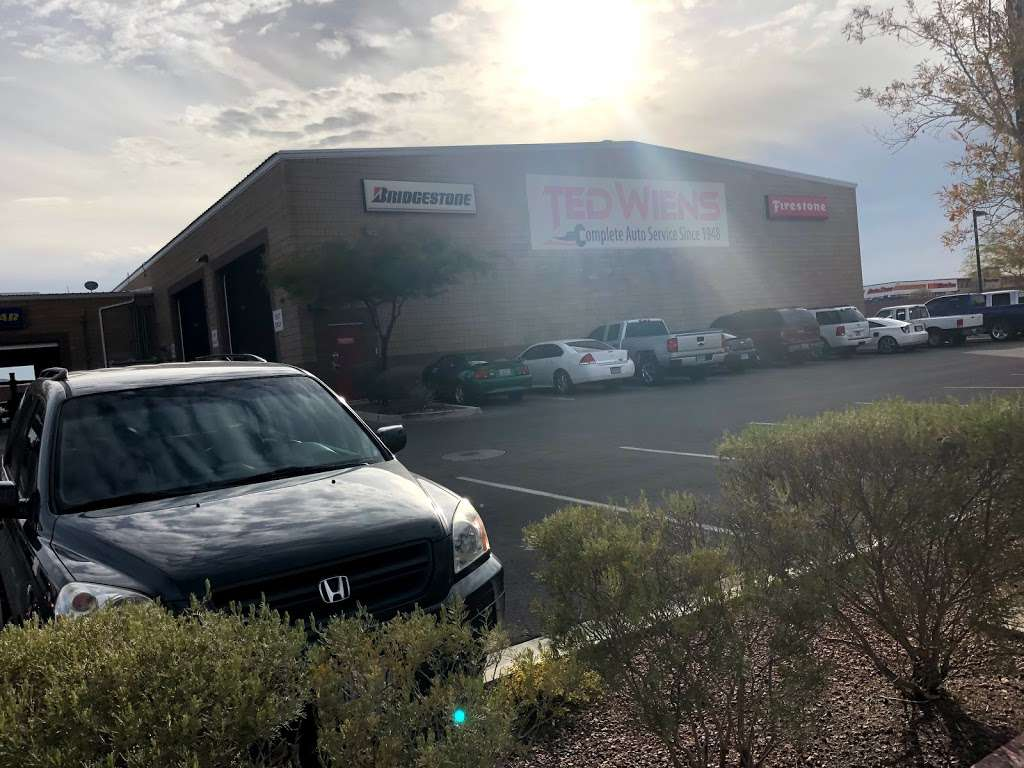 Ted Wiens Tire & Auto - car repair    Photo 9 of 10   Address: 4435 W Wigwam Ave, Las Vegas, NV 89139, USA   Phone: (702) 589-9200