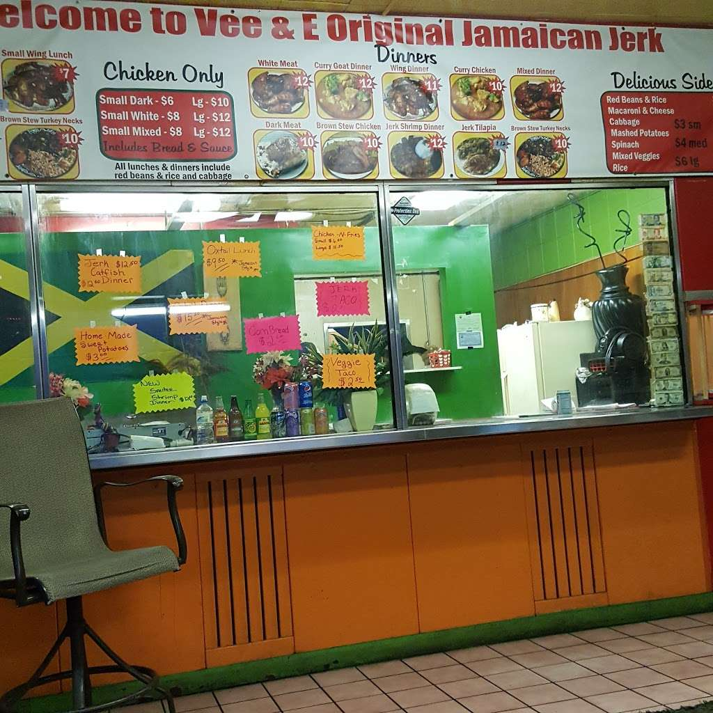 Vee and E Original Jamaican Jerk Chicken - restaurant  | Photo 5 of 10 | Address: 3712 Grant St, Gary, IN 46408, USA | Phone: (219) 512-2446