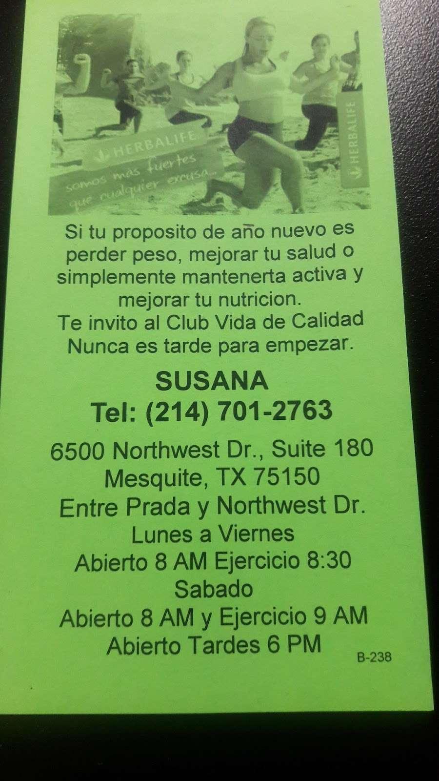 Club Vida De Calidad Ejercicio Y Nutrición - cafe  | Photo 5 of 7 | Address: 6500 Northwest Dr suite 180, Mesquite, TX 75150, USA