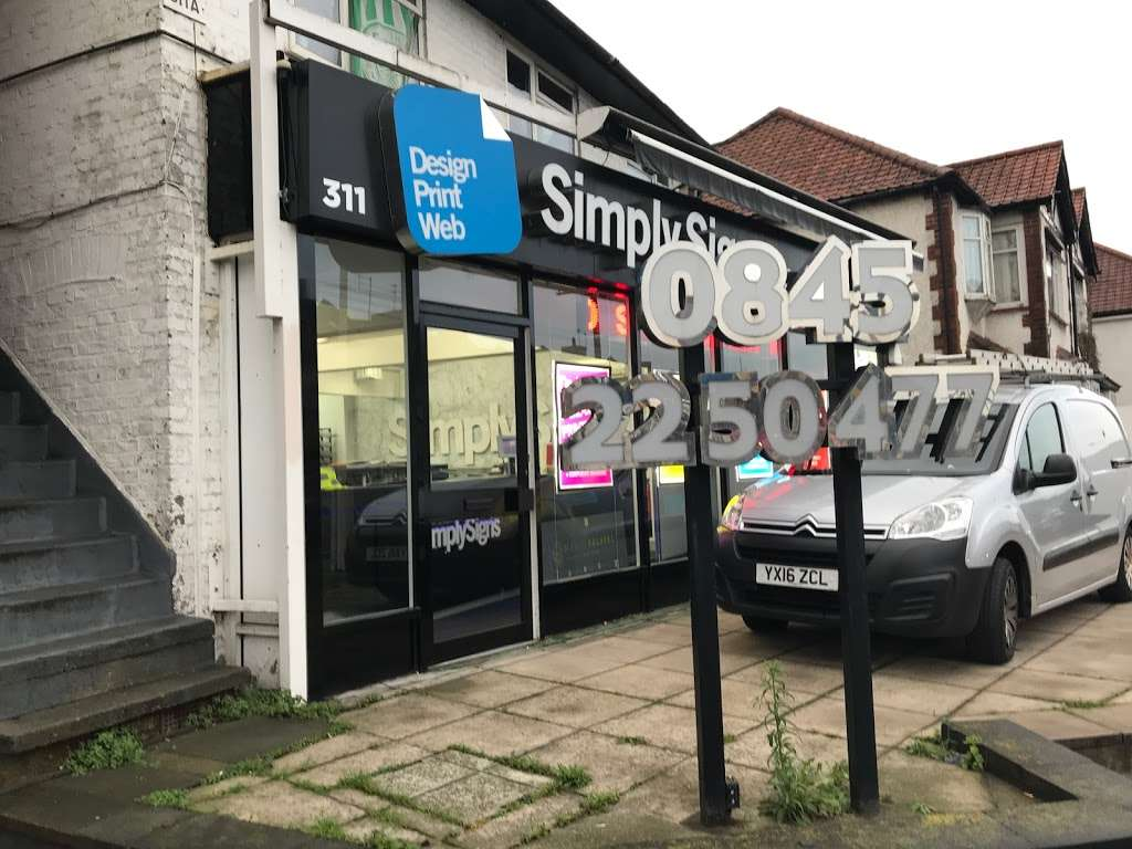 Simply Signs Ltd - store  | Photo 2 of 10 | Address: 311 Neasden Ln N, London NW10 0AG, UK | Phone: 020 8452 9710