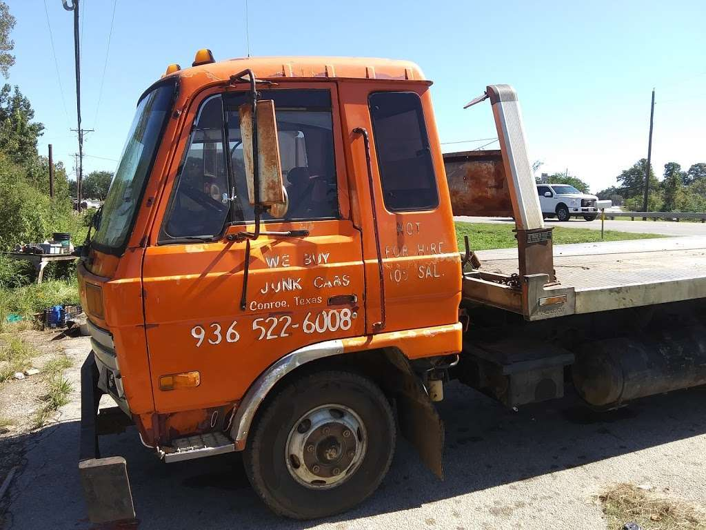 WE BUY JUNK CARS - car repair    Photo 1 of 2   Address: 11595 Hwy 105 E, Conroe, TX 77306, USA   Phone: (936) 522-6008
