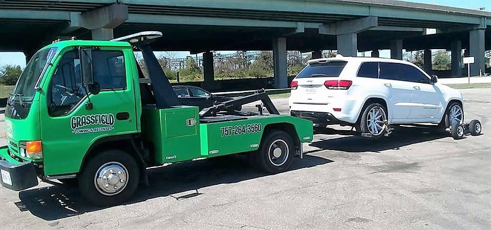 Grassfield Towing & Recovery - car repair  | Photo 9 of 10 | Address: 122 Sampson Creek Rd, Chesapeake, VA 23322, USA | Phone: (757) 264-3560