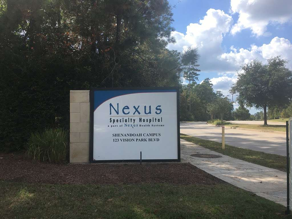 Nexus Specialty Hospital - hospital  | Photo 3 of 4 | Address: 123 Vision Park Blvd, Shenandoah, TX 77384, USA | Phone: (281) 364-0317