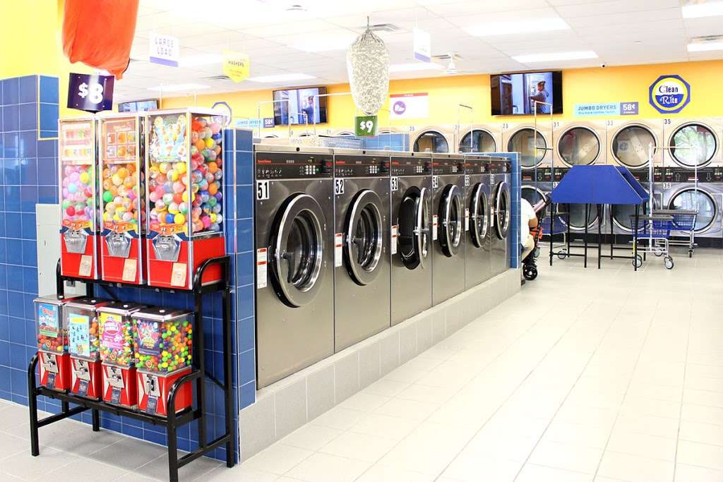 Clean Rite Center 24 HOURS - laundry  | Photo 5 of 10 | Address: 1240 E Tremont Ave, Bronx, NY 10460, USA | Phone: (718) 931-5991
