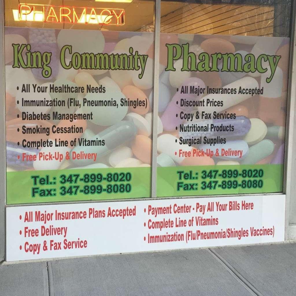 King Community Pharmacy Inc. - pharmacy  | Photo 3 of 3 | Address: 161 Dreiser Loop, Bronx, NY 10475, USA | Phone: (347) 899-8020