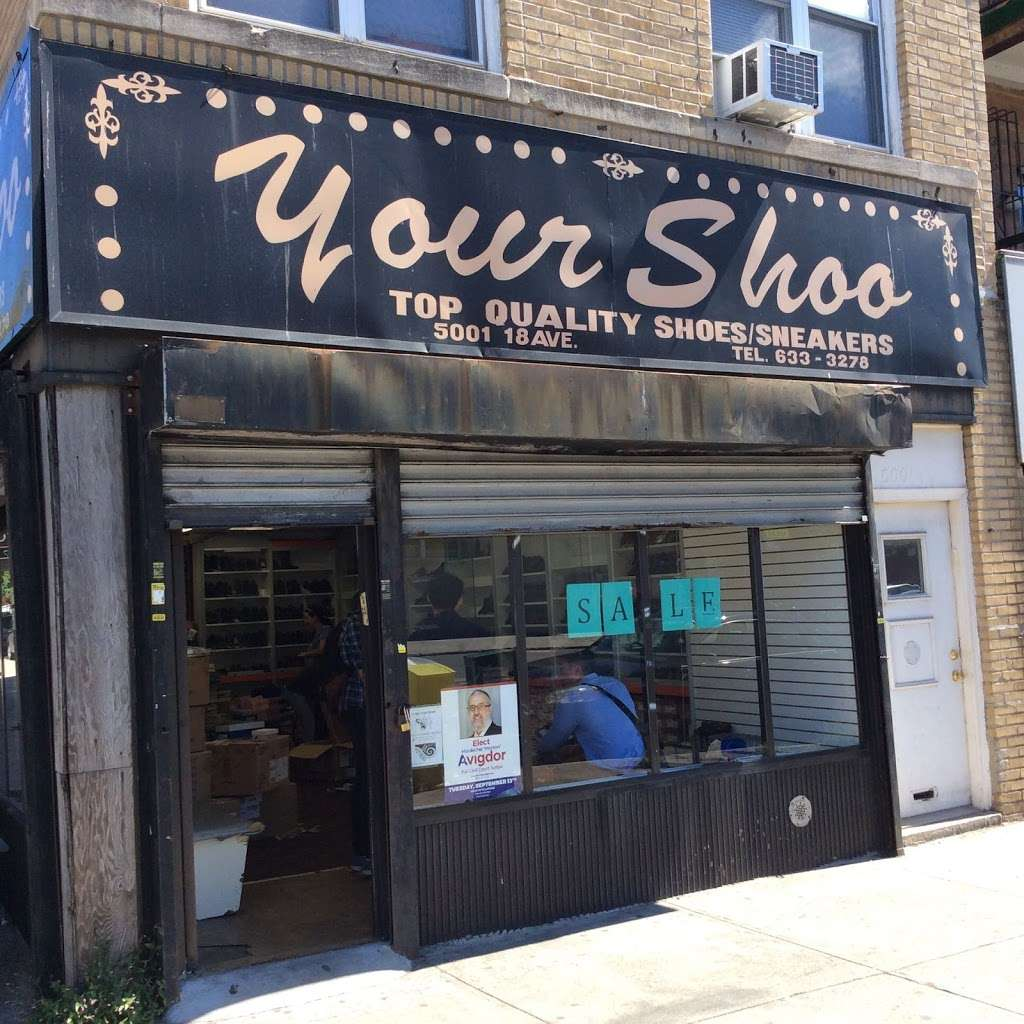 Your Shoo - shoe store  | Photo 1 of 2 | Address: 5001 18th Ave, Brooklyn, NY 11204, USA | Phone: (718) 633-3278