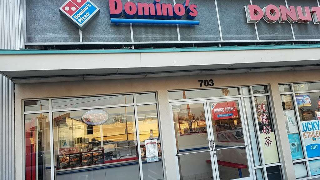 Dominos Pizza - meal delivery    Photo 3 of 10   Address: 703 S Atlantic Blvd, Alhambra, CA 91803, USA   Phone: (626) 289-5694