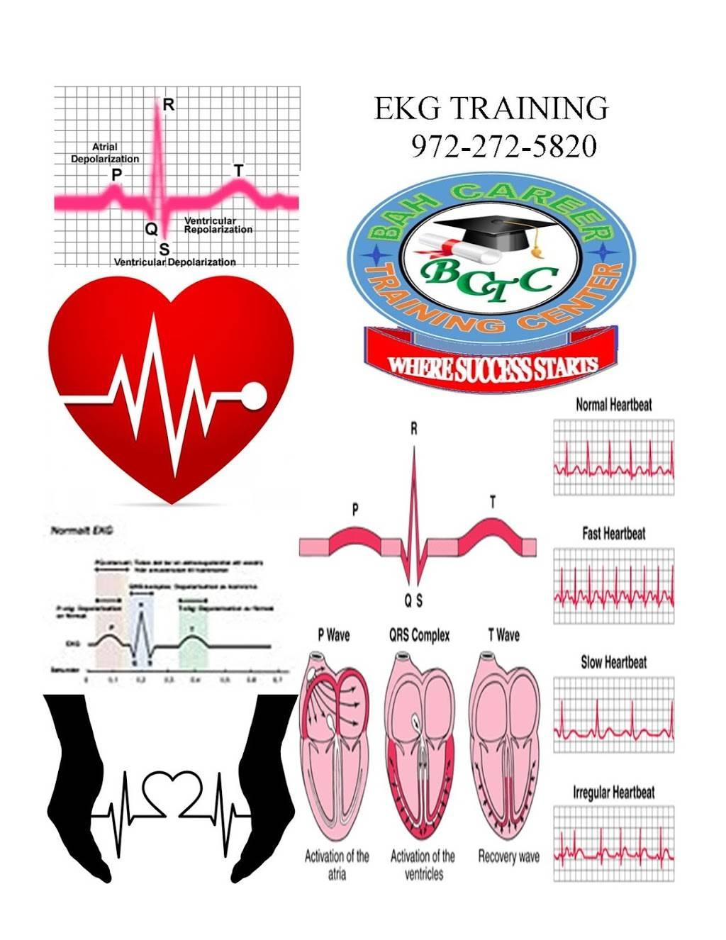 EKG TRAINING @ BAH CAREER TRAINING - doctor    Photo 2 of 3   Address: 2433 Goldfinch Ln, Garland, TX 75042, USA   Phone: (972) 272-5820