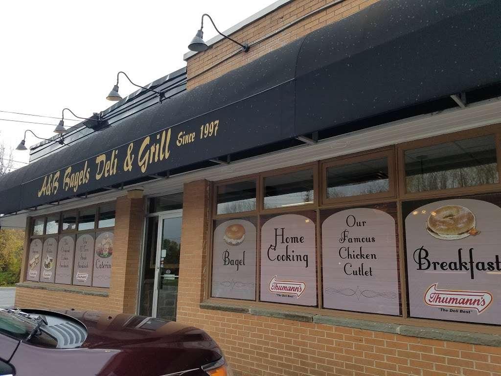 A&B Bagels and Deli - cafe    Photo 3 of 10   Address: 470 US-206, Newton, NJ 07860, USA   Phone: (973) 579-8777