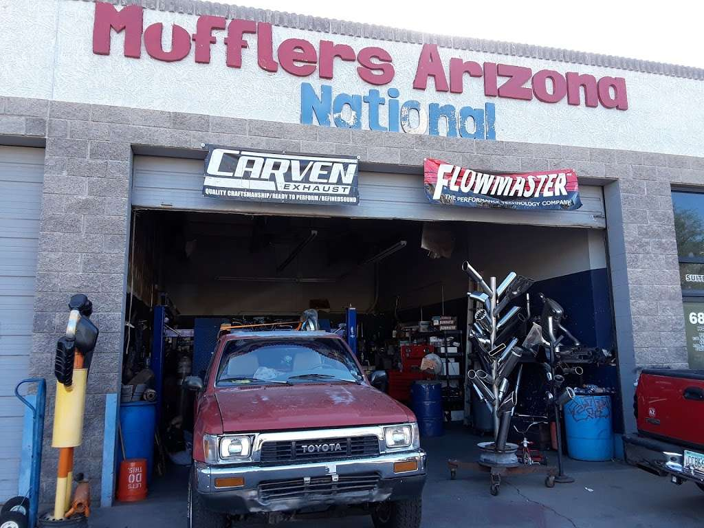 Mufflers Arizona National llc #2 - car repair  | Photo 1 of 10 | Address: 6858 W Indian School Rd, Phoenix, AZ 85033, USA | Phone: (623) 873-7917
