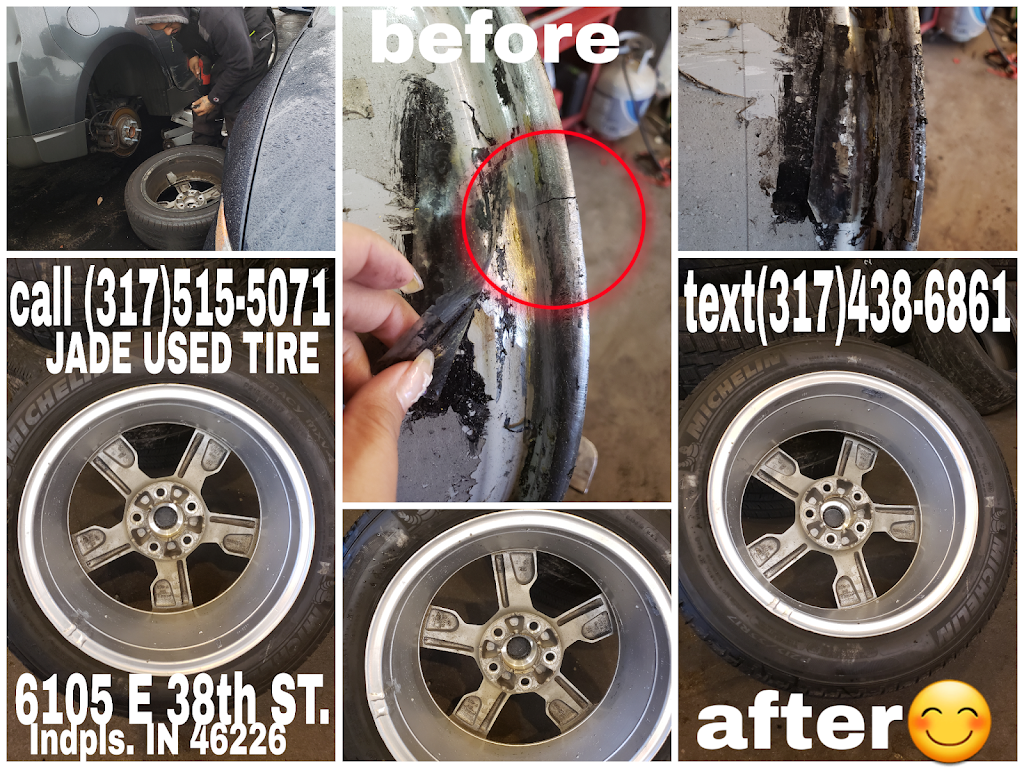 JADE USED TIRE SHOP - car repair  | Photo 9 of 10 | Address: 6105 E 38th St, Indianapolis, IN 46226, USA | Phone: (317) 515-5071