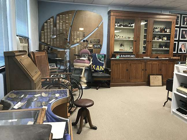 Anderson County Historical Society Museum - museum  | Photo 2 of 2 | Address: US Hwy 59 &, W 6th Ave, Garnett, KS 66032, USA | Phone: (785) 448-5740