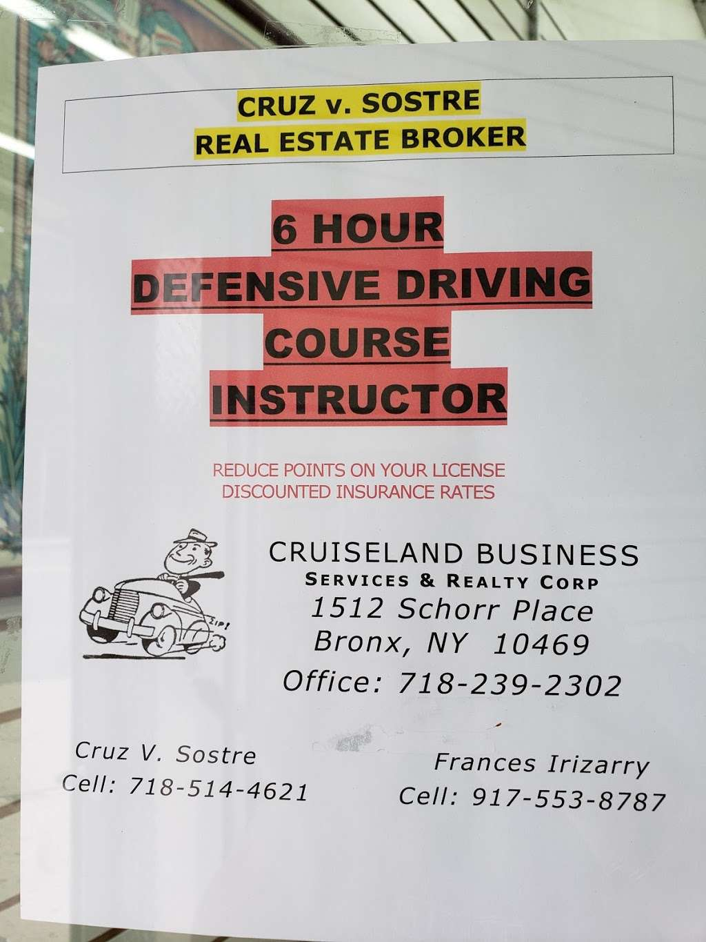Cruiseland Business Services & Realty Corp. - real estate agency  | Photo 3 of 3 | Address: Eastchester Rd & Schorr Pl, Bronx, NY 10469, USA | Phone: (718) 239-2302