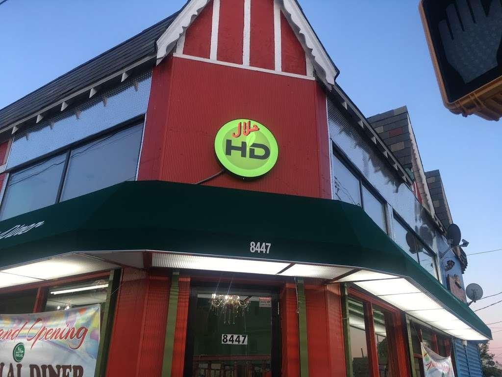 HALAL DINER - restaurant    Photo 1 of 10   Address: 8447 Parsons Blvd, Jamaica, NY 11432, USA   Phone: (718) 674-6969