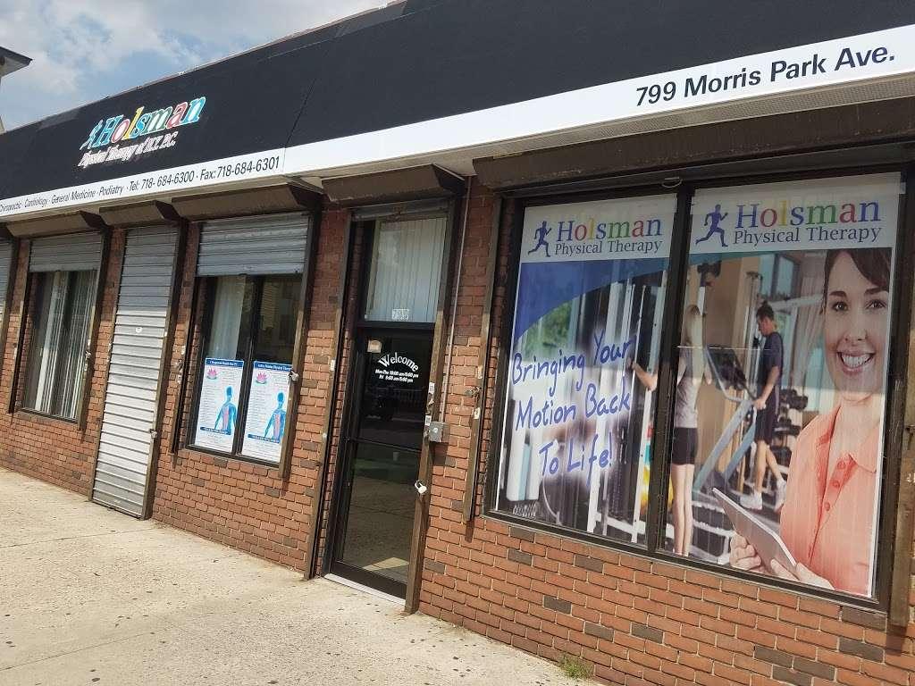 Holsman Physical Therapy - physiotherapist  | Photo 2 of 3 | Address: 799 Morris Park Ave, Bronx, NY 10462, USA | Phone: (718) 684-6300