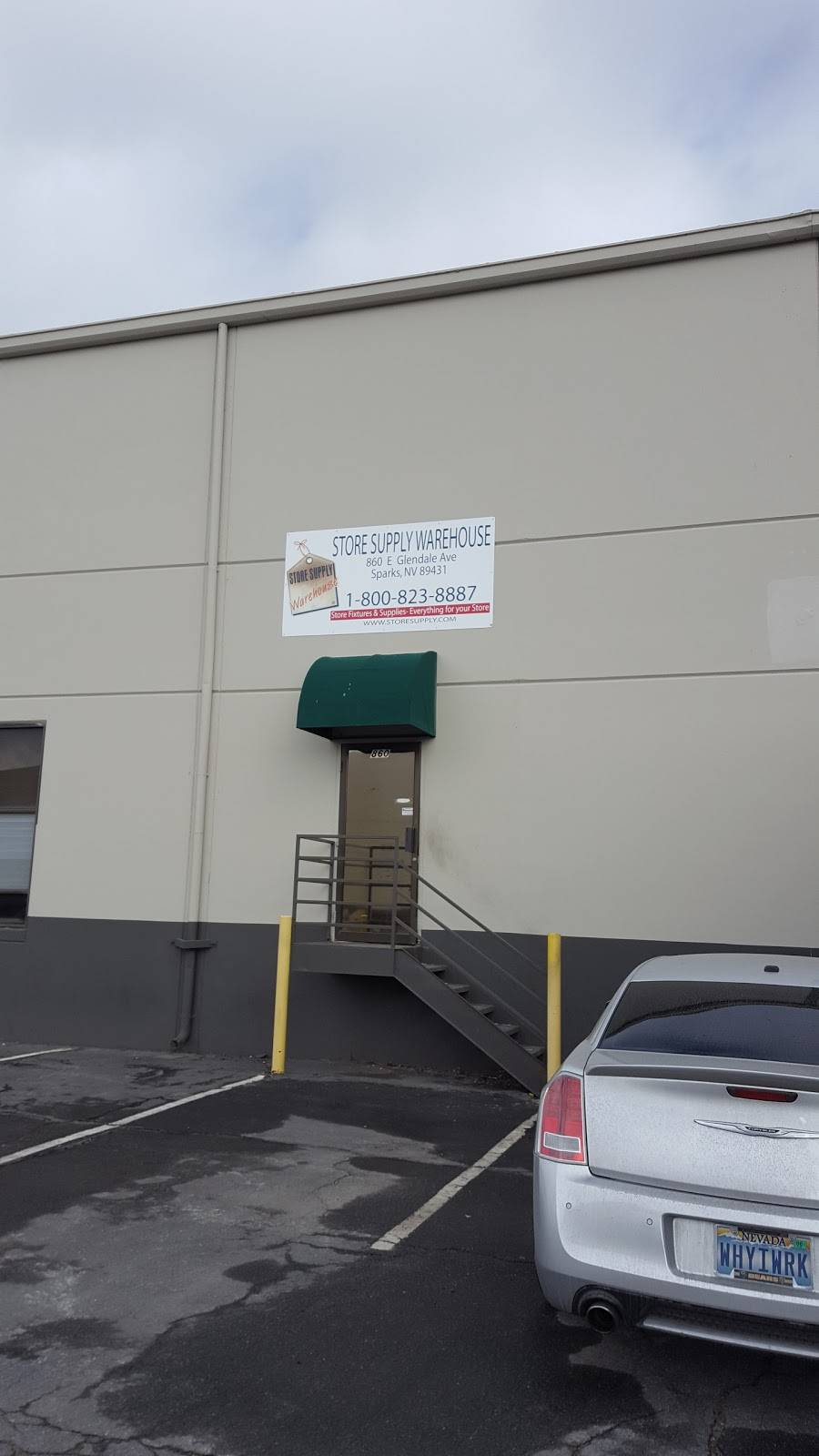 Store Supply Warehouse, LLC - hardware store  | Photo 1 of 2 | Address: 860 E Glendale Ave, Sparks, NV 89431, USA | Phone: (775) 358-6765