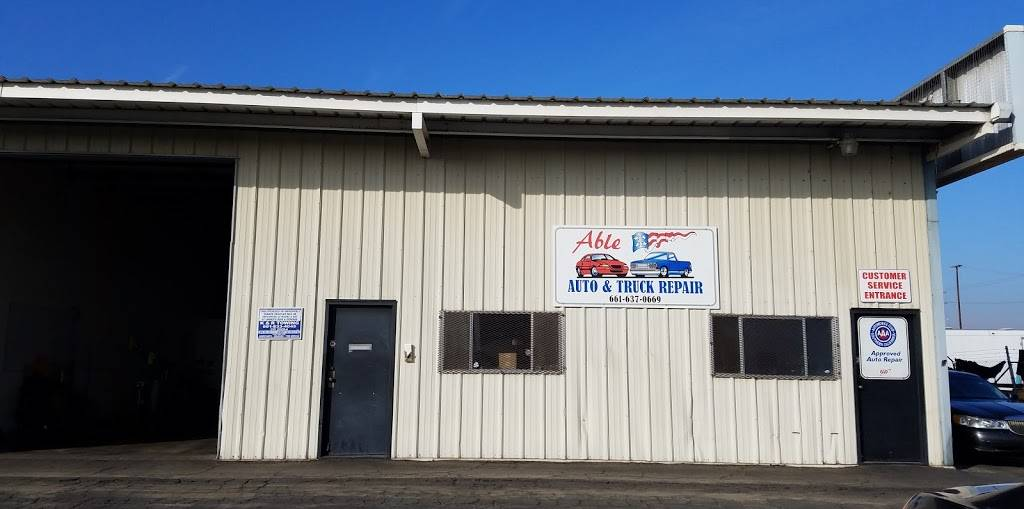 Able Auto and Truck Repair - car repair  | Photo 2 of 9 | Address: 2459 Fruitvale Ave #1, Bakersfield, CA 93308, USA | Phone: (661) 637-0669