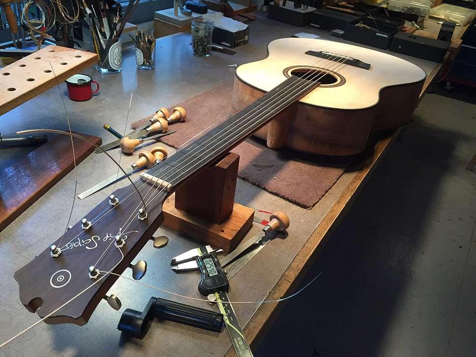 Flip Scipio | Guitar Maker And Repairman - electronics store  | Photo 5 of 10 | Address: 2 Grove St #4, New York, NY 10014, USA | Phone: (516) 426-5624