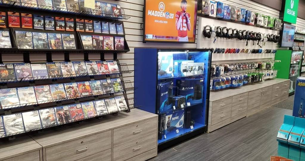GameStop - electronics store    Photo 3 of 8   Address: 12401 E 96th St N, Owasso, OK 74055, USA   Phone: (918) 376-2716