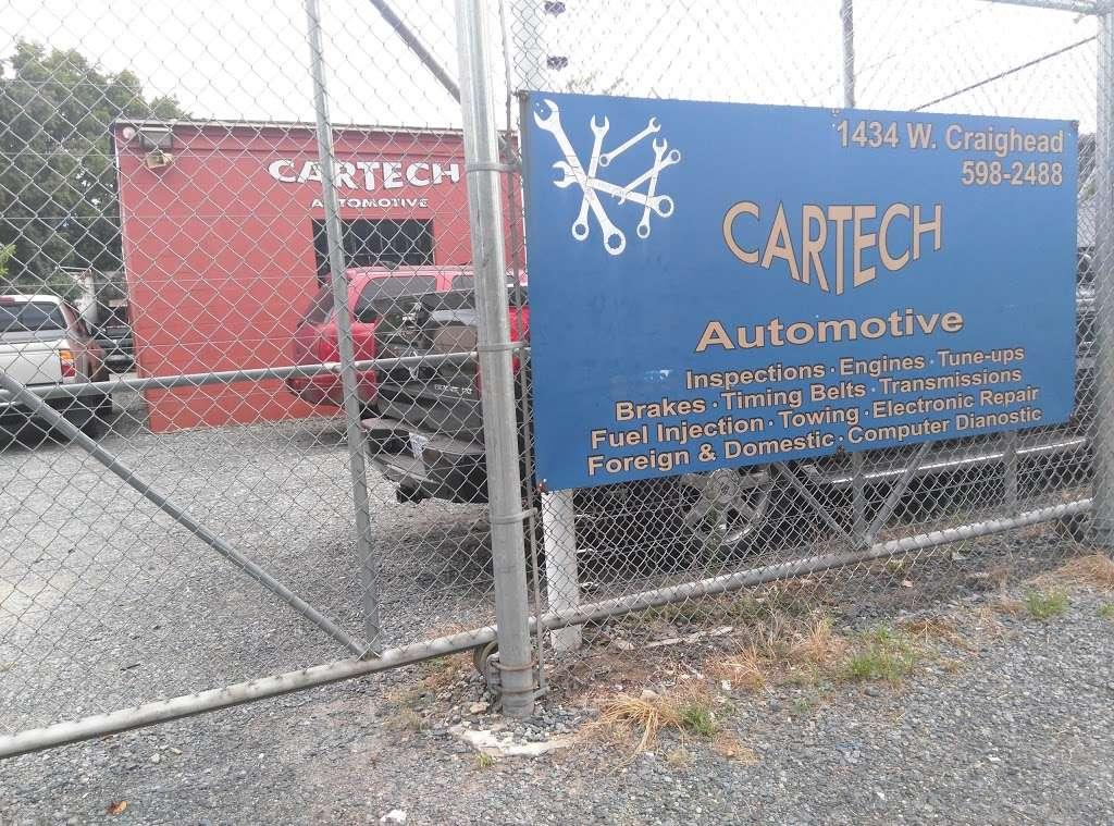 Cartech - car repair    Photo 1 of 1   Address: 1434 W Craighead Rd, Charlotte, NC 28206, USA   Phone: (704) 598-2488