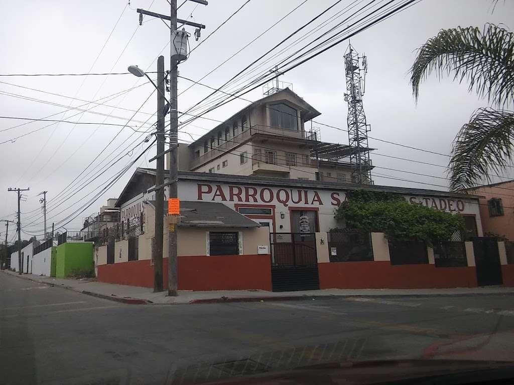 Parroquia San Judas Tadeo Pedregal Sta. Julia, Tijuana. - church  | Photo 5 of 10 | Address: Lucrecia Toris 6207, Pedregalde Sta Julia, 22604 Tijuana, B.C., Mexico | Phone: 664 636 3526