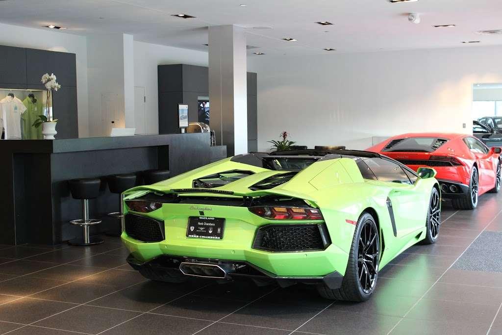 Lamborghini Boston - car dealer  | Photo 6 of 10 | Address: 531 Boston Post Rd Rte. 20, Wayland, MA 01778, USA | Phone: (508) 401-2800