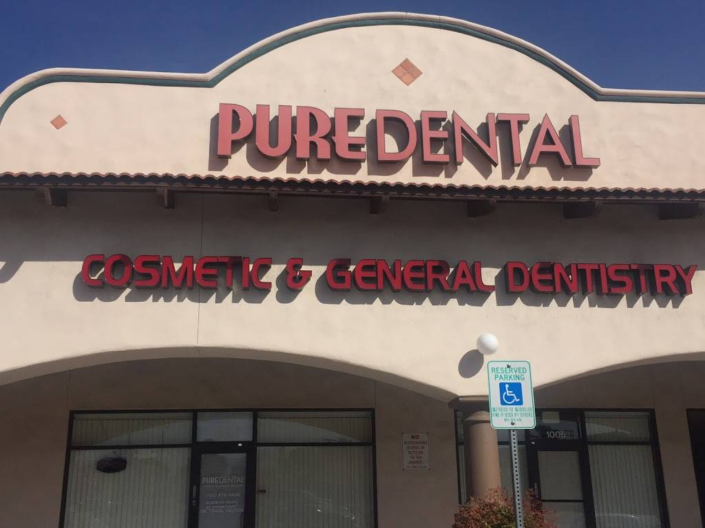 Pure Dental - dentist  | Photo 1 of 4 | Address: 4250 S Rainbow Blvd # 1004, Las Vegas, NV 89103, USA | Phone: (702) 456-4600