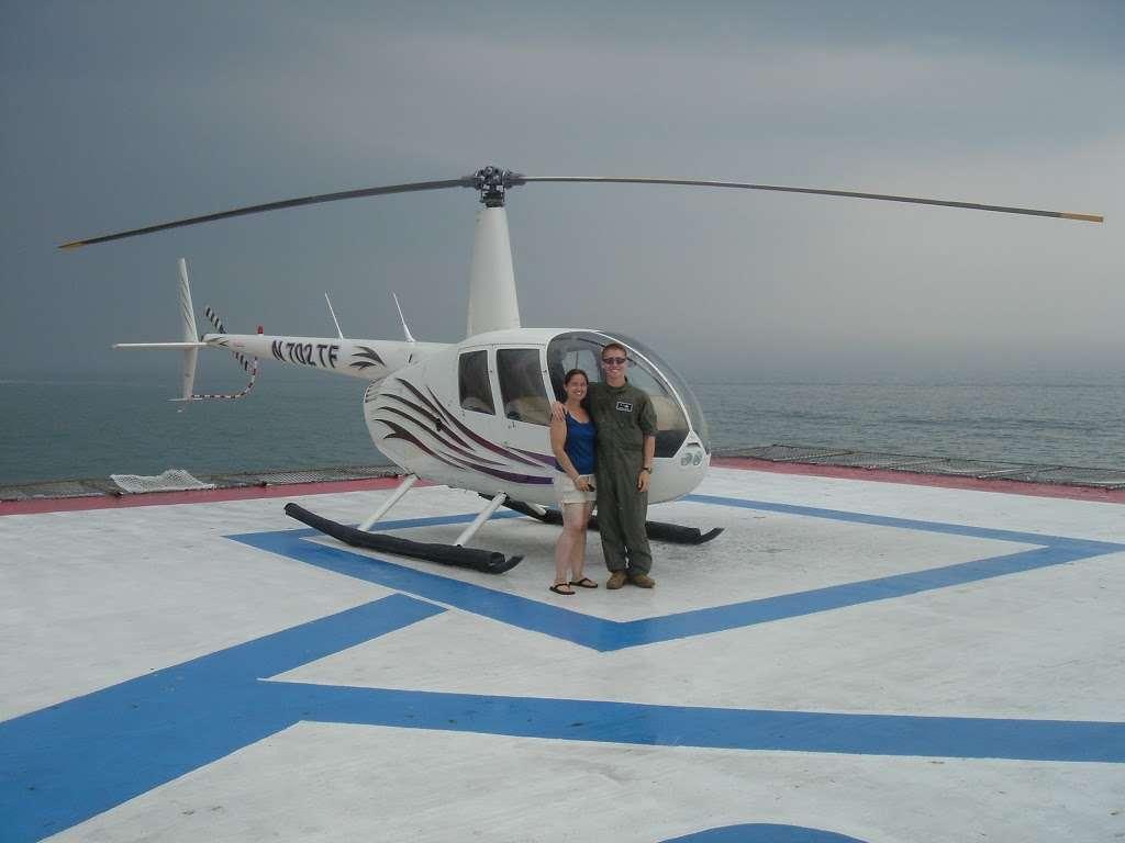 Steel Pier Helicopters - airport  | Photo 1 of 10 | Address: 1000 Boardwalk, Atlantic City, NJ 08401, USA | Phone: (732) 245-3306